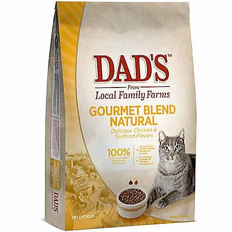 Dad S Gourmet Blend Natural Dry Cat Food 16 Lb Bag At Tractor