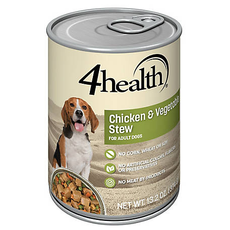 4health Original Chicken & Vegetable Stew for Dogs, 13.2 oz.