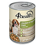 4health Chicken & Vegetable Stew for Dogs, 13.2 oz.