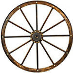 Red Shed Wooden Wagon Wheel, 34-3/4 in.