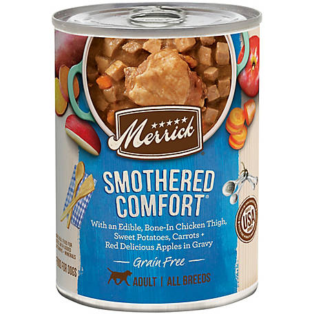 Merrick Grain Free Grain Free Smothered Comfort in Gravy Dog Food, 12.7 oz.