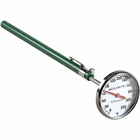AcuRite Stainless Steel Soil Thermometer
