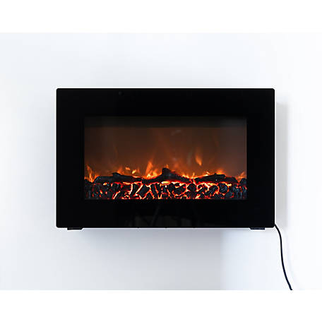 Fire Sense Wall Mounted Electric Fireplace, 60757