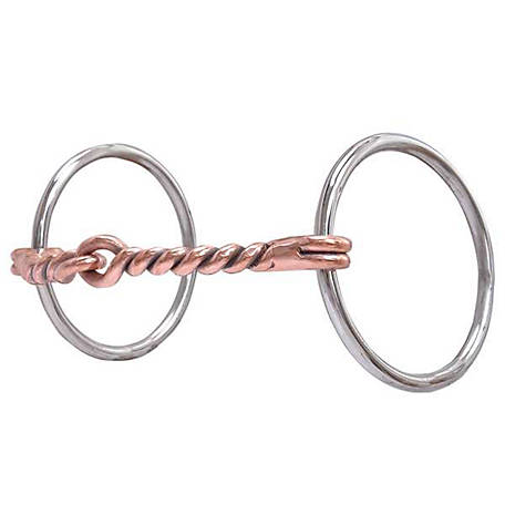 Reinsman Circle R All Around Light Ring Snaffle, CR115