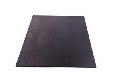 Utility Rubber Mat Black 4 Ft X 3 Ft X 1 2 In At Tractor