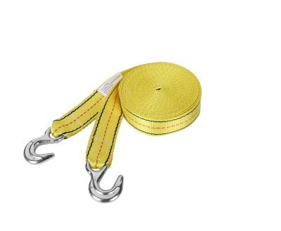 Buy Traveller Tow Strap with Hooks; 3;000 lb. Safe Work Load; Yellow; 2 in. x 30 ft. Online