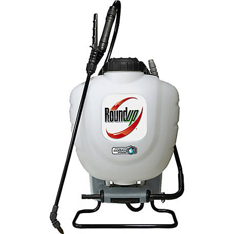 Roundup 190327 4 Gal. No Leak Pump Backpack Sprayer