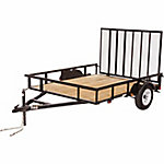 Carry-On Trailer 6 ft. x 8 ft. Open Wood-Floor Utility Trailer