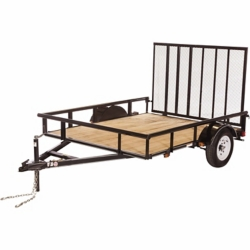 Shop Carry-On Trailer 6 ft. x 8 ft. Open Wood-Floor Utility Trailer at Tractor Supply Co.