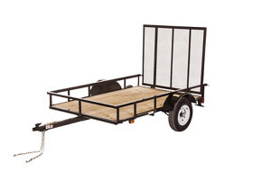 Carry on trailer 5 ft x 8 ft open wood floor utility for 6x12 wood floor trailer