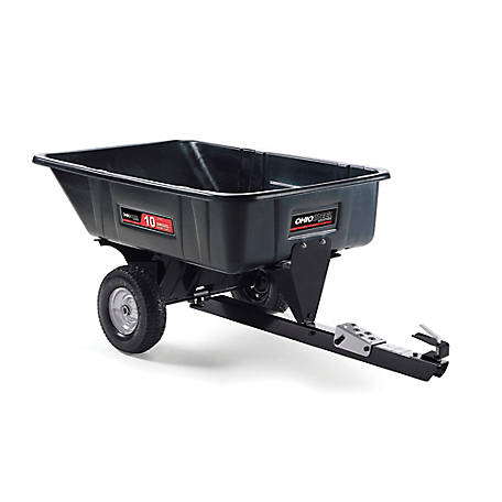 Ohio Steel Poly Swivel Dump Cart, 10 cu. ft./600 lb. Capacity, 3040P-SD