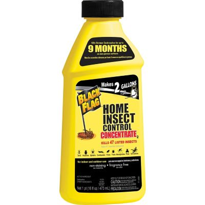 Black Flag Home Insect Control Concentrate; 16 oz.