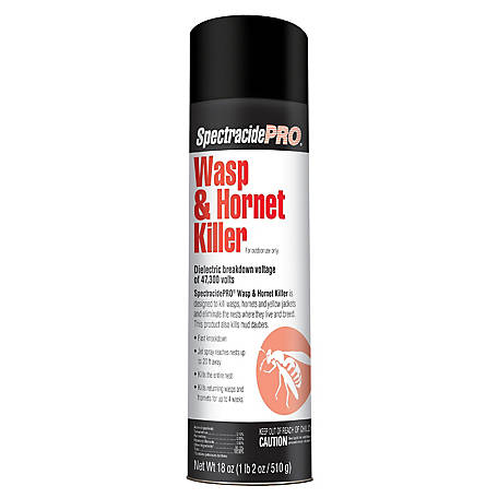 Black Flag Pro Wasp & Hornet Killer, Aerosol, 18 oz., HG-30110
