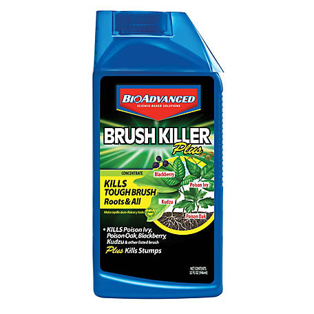 BioAdvanced Brush Killer Plus Concentrate, 32 oz., 704640B