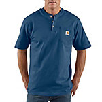 Carhartt Men's K84 Workwear Pocket Short Sleeve Henley