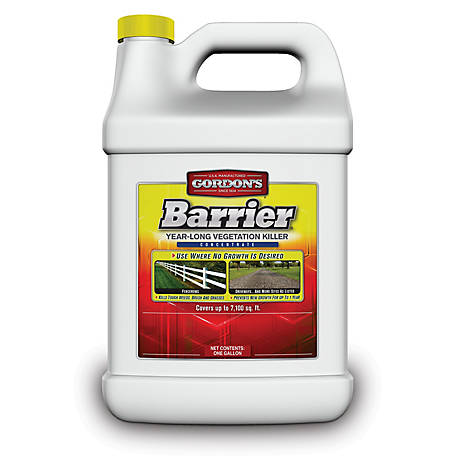 Gordon's Barrier Year-Long Vegetation Killer Concentrate, 1 gal., 8131072