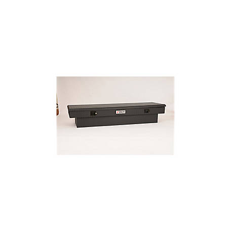 Tractor Supply Full Length Textured Aluminum Truck Box, Black, DZ8170TBTSC