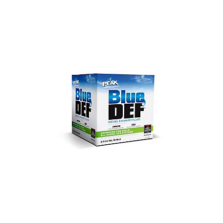 PEAK BlueDEF Diesel Exhaust Fluid, 2.5 gal., DEF002