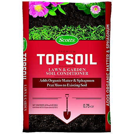 Scotts Scotts Premium Topsoil 0.75 cu. ft., 71130758
