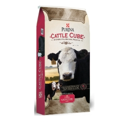 Shop Purina Hi-Energy Cattle Cube, 50 lb. at Tractor Supply Co.