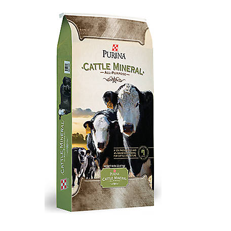 Purina All Purpose Cattle Mineral, 50 lb.