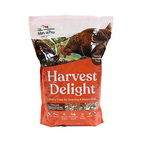 Manna Pro Harvest Delight Poultry Treat, 1000204