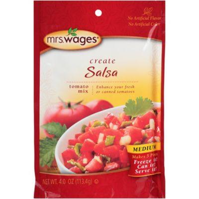 Mrs. Wages Salsa Tomato Mix; Medium