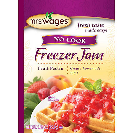 Mrs. Wages No Cook Freezer Jam Fruit Pectin