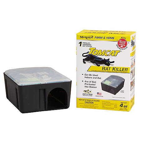 Tomcat Rat Killer Disposable Kid and Dog Resistant Station, 22880