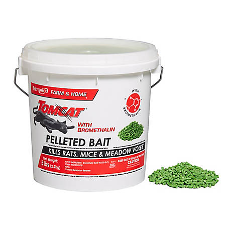 Tomcat With Bromethalin, 5 lb. Pail, 22045
