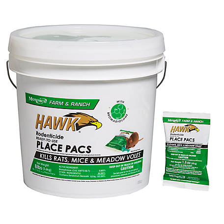 Hawk Place Pacs 86 Count Pail
