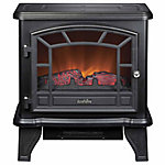 Redstone Maxwell Electric Stove with Heater, Black