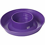 Little Giant 1-Quart Screw-On Poultry Waterer Base, Purple