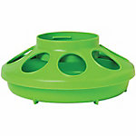 Little Giant 1-Quart Plastic Feeder Base, Green