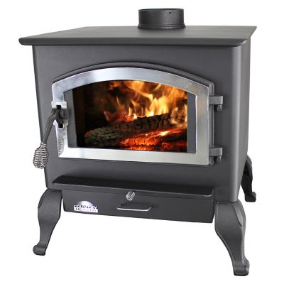 US Stove Wood Stove, 2,500 sq. ft. EPA-Certified with Blower and Legs - For  Life Out Here - US Stove Wood Stove, 2,500 Sq. Ft. EPA-Certified With Blower And
