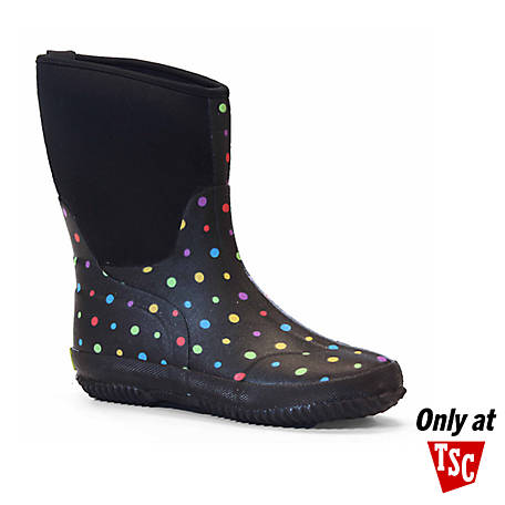 Western Chief Women's Neoprene Ditsy Dot Rain Boot