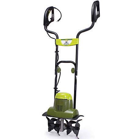 Sun Joe TJ600E Electric Garden Tiller/Cultivator, 14 in., 6.5A