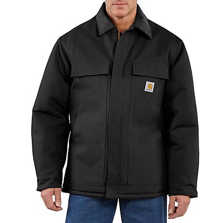 Carhartt Mens Arctic Quilt Lined Duck Traditional Coat At Tractor