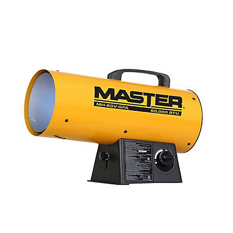 Forced Air Propane Heater >> Master Propane Forced Air Torpedo Heater 60 000 Btu Mh 60v