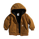 Carhartt Boys' Infant Active Jac Quilted Flannel Lined Jacket
