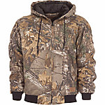 C.E. Schmidt Men's Quilt-Lined Insulated Hooded Jacket, Realtree Xtra Camouflage