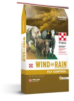 Shop Purina Wind and Rain Fly Control Cattle Mineral at Tractor Supply Co.