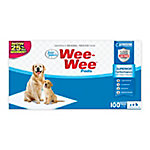 Four Paws Wee-Wee Quilted Dog Training Pads, Pack of 100
