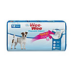 Four Paws Wee-Wee Dog Small Disposable Diapers Small, Pack of 12
