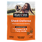 Nutri-Vet Shed-Defense Soft Chews for Dogs, 6 oz.