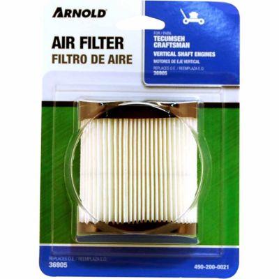 Arnold Replacement Tecumseh Air Filter; 490-200-0021