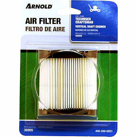 Arnold Replacement Tecumseh Air Filter, 490-200-0021