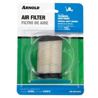 Arnold Replacement Tecumseh Air Filter; 490-200-0020