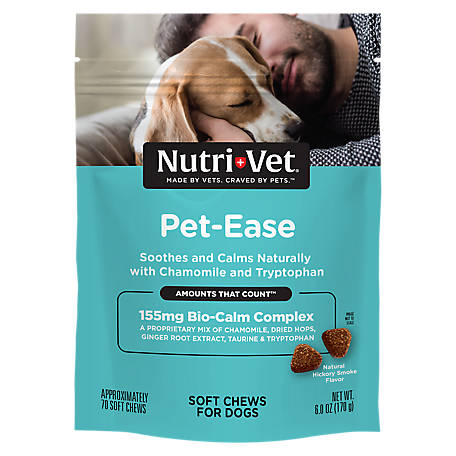 Nutri-Vet Pet-Ease Soft Chews for Dogs, 6 oz., 1001080