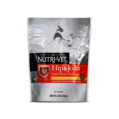 Buy Nutri-Vet Hip & Joint Regular Strength Soft Chews; 6 oz. Online